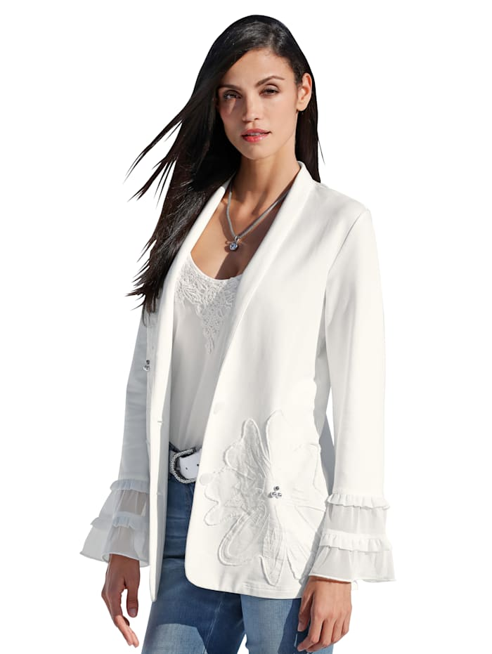 Sweatvest AMY VERMONT Offwhite