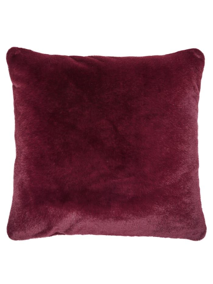 Image of Dekokissen 'Furry' Essenza Rot