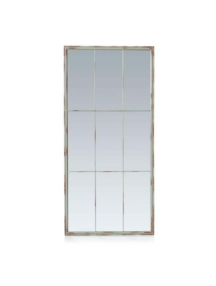 Spiegel, Impressionen living grau metallic