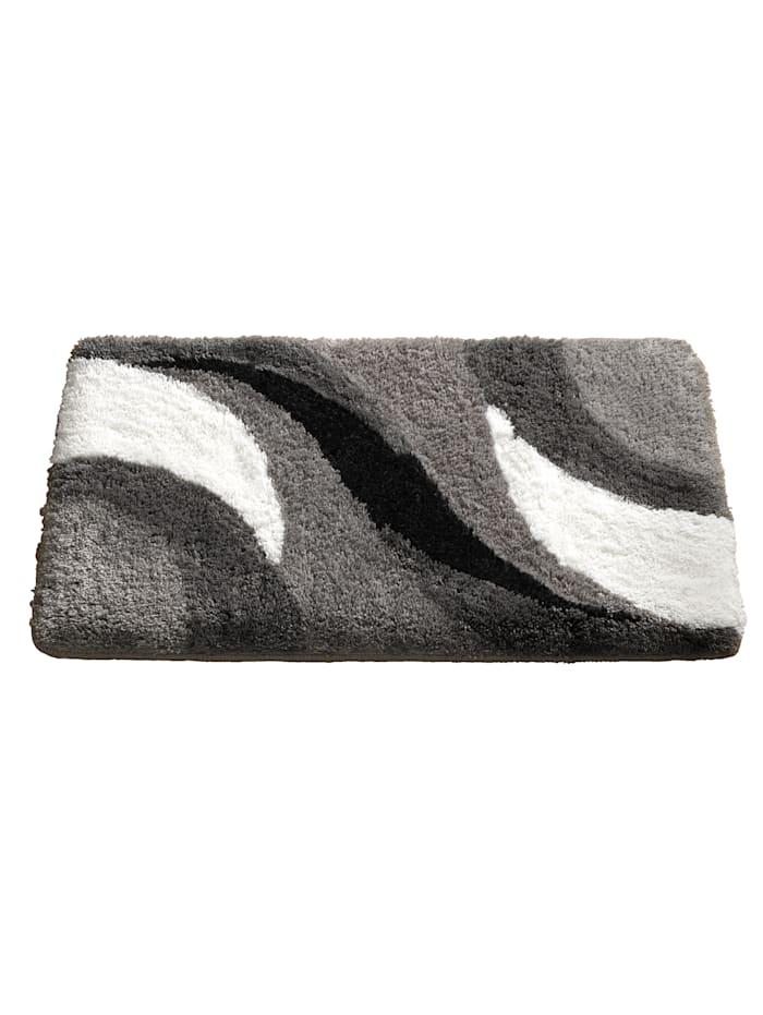 Badmatten Sylt Webschatz grijs