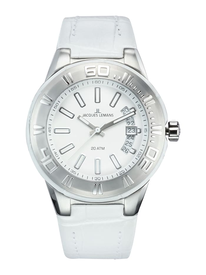 Horloge Jacques Lemans Wit