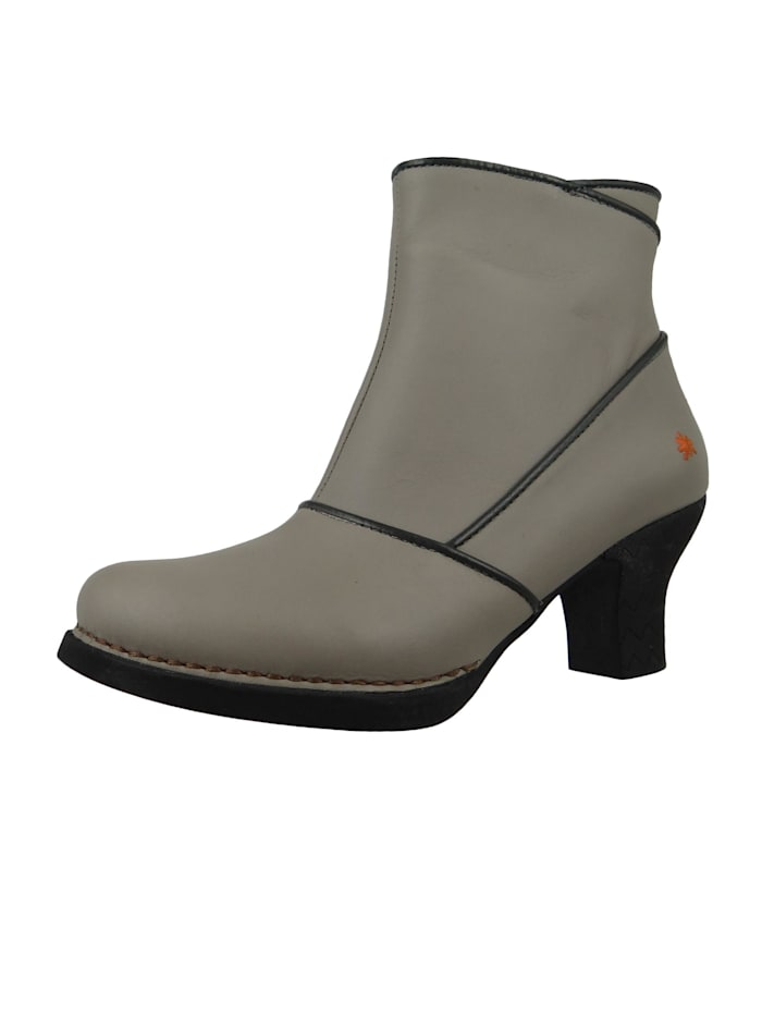 *art - Damen Leder Stiefelette Ankle Boot Harlem Grey Grau 0945  Grey