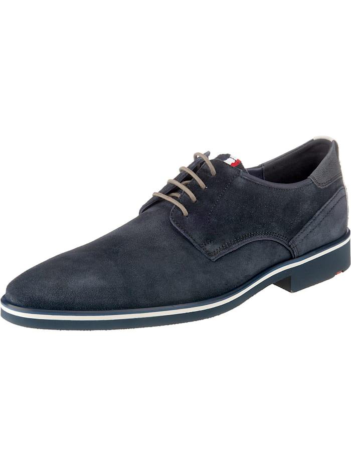 lloyd - klassischer Stiefel Jersey Schnürschuh Business-Schnürschuhe  dunkelblau
