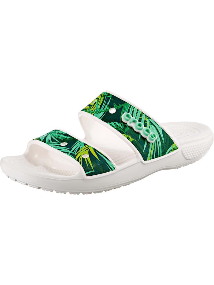 crocs - Classic  Tropical Sandal Badelatschen  türkis-kombi