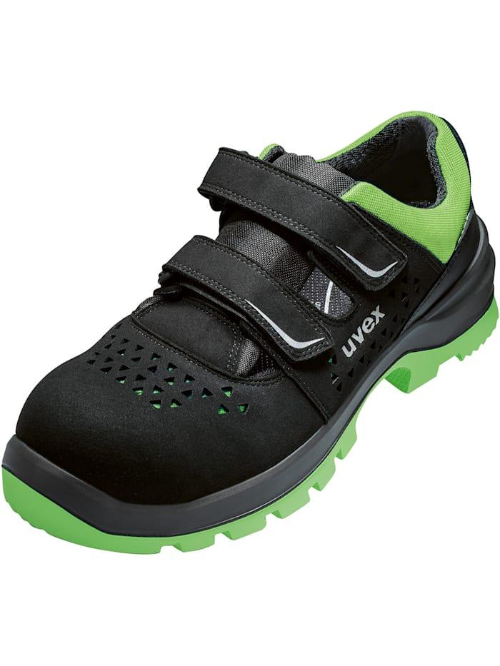 uvex - Sicherheitsschuhe  2 xenova® Sandale S1P SRC  schwarz/grün
