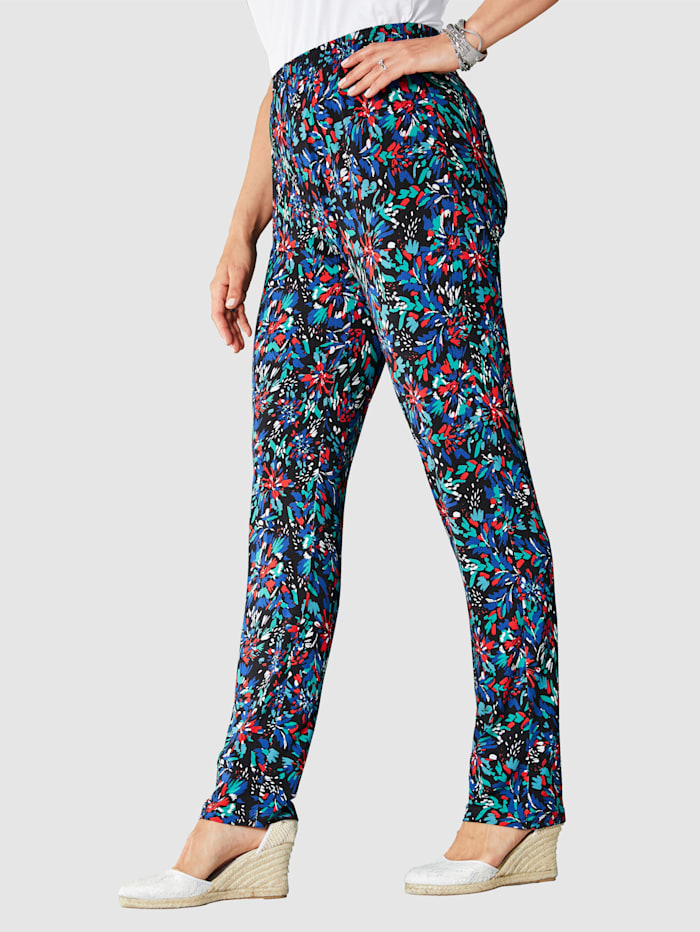 Miamoda Broek  Multicolor