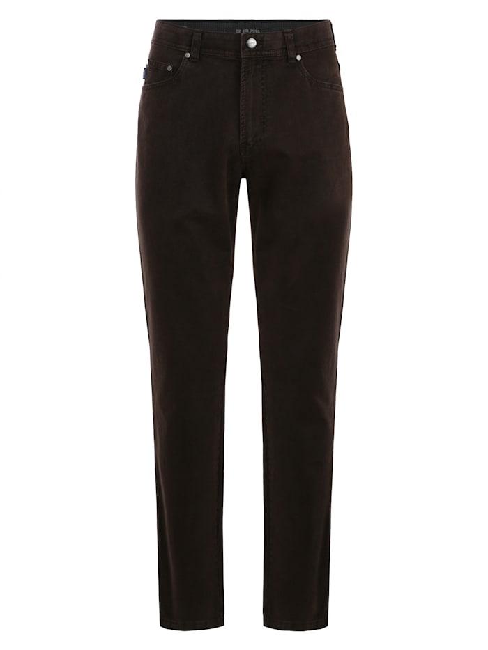 brühl - Regular Fit-Jeans Genua III mit bequemem Komfortbund  braun