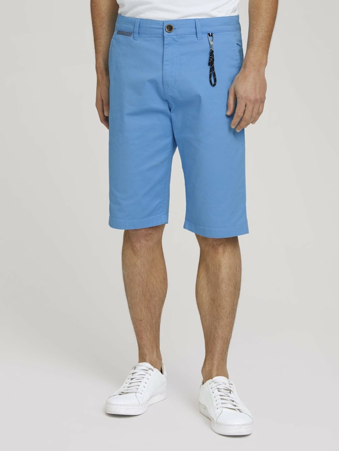 tom tailor - Chino Shorts mit Bio-Baumwolle  tibet red