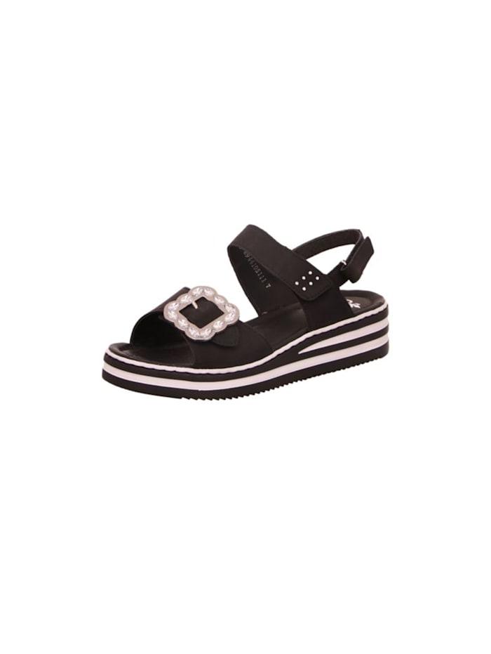 rieker - Sandalen/Sandaletten  schwarz