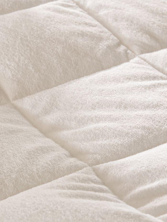 Faser Bettenprogramm mit Frotteebezug Breckle weiss