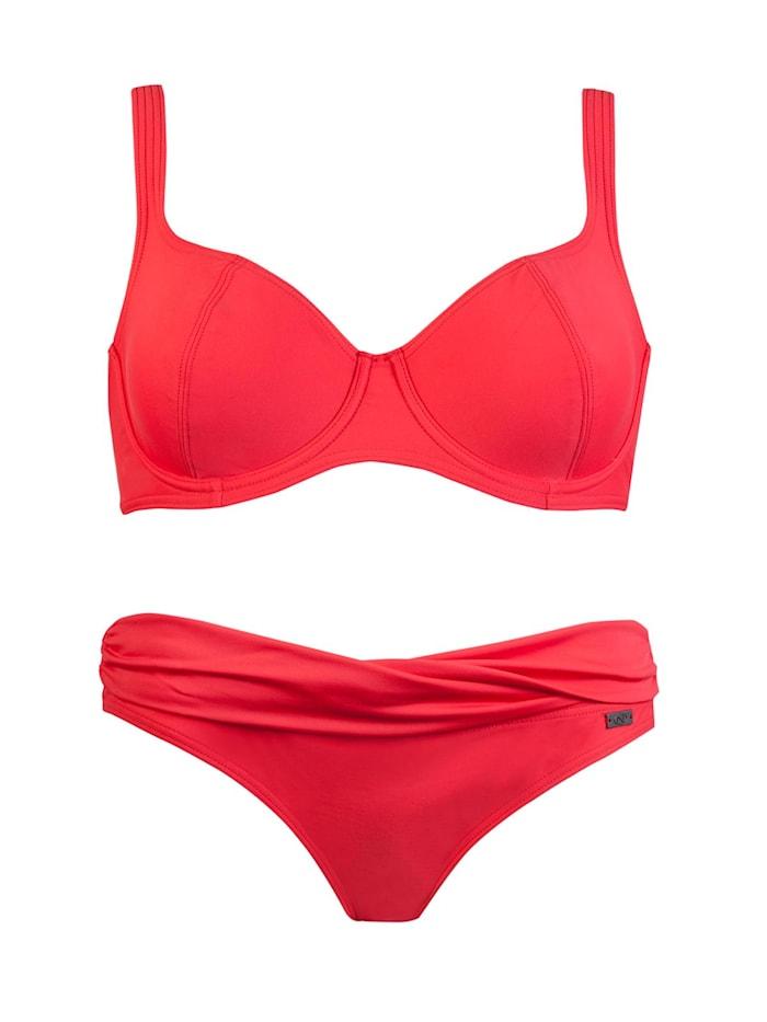 Bügel Bikini Naturana Rot