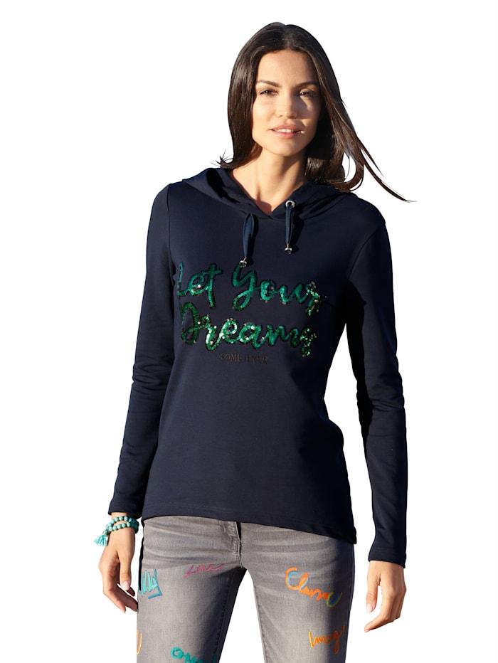 Shirt AMY VERMONT Blauw::Groen