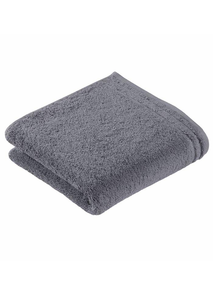 Handdoekenset effen Vossen grijs