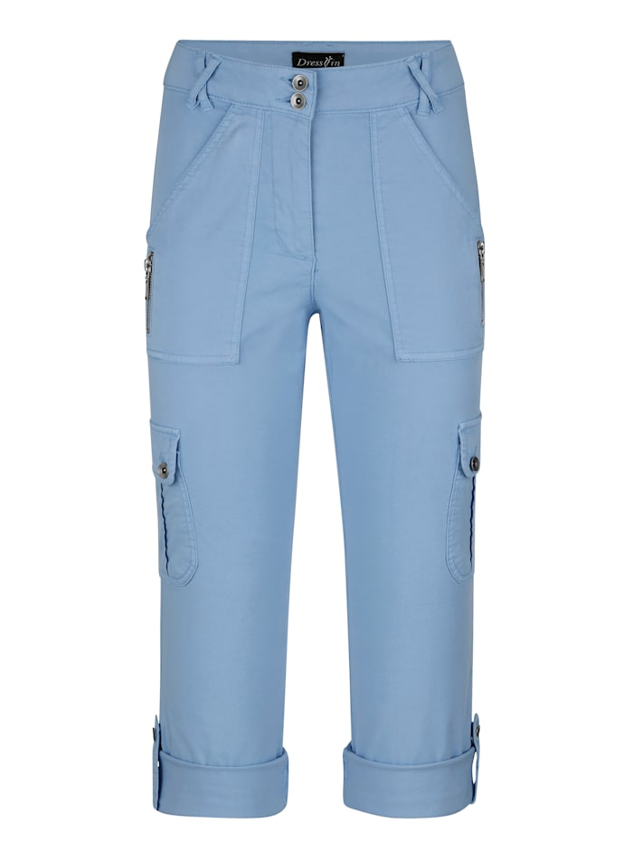 dress in - Cargohose  Hellblau