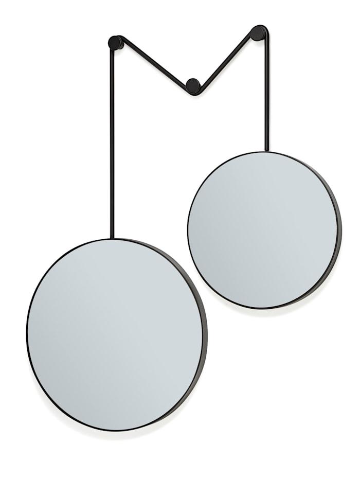 OK: Spiegel, Impressionen living schwarz Idee