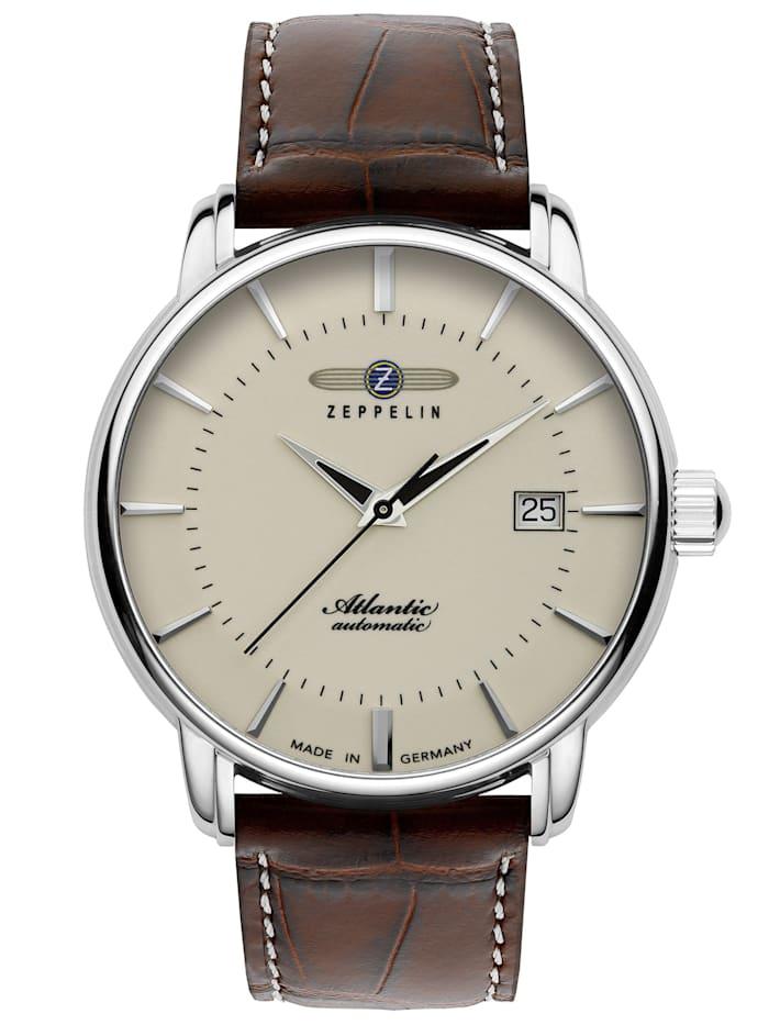 zeppelin - Herren-Armbanduhr Atlantic GMT 8442-5  beige