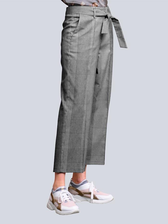 alba moda - Culotte  Schwarz::Weiß