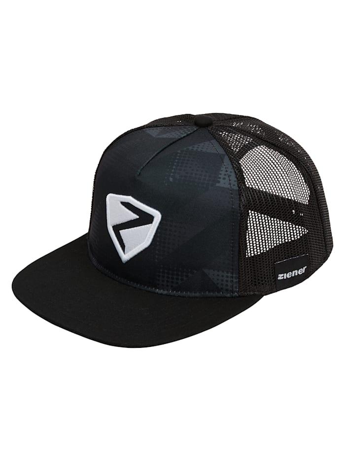 ziener - IGERD cap  Black print