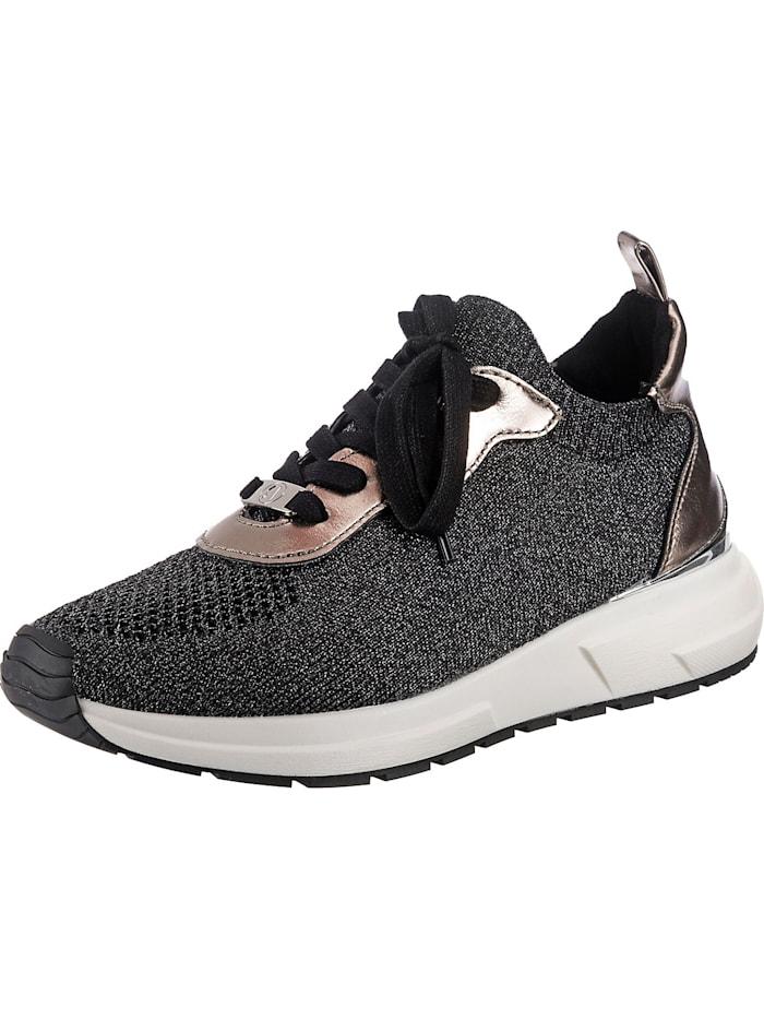 la strada - Sneakers Low  schwarz-kombi