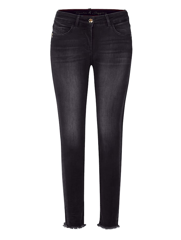 Jeans skinny, Patrizia Pepe grau Must-Have Post 3536