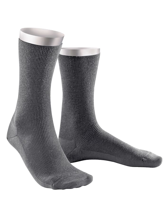 Chaussettes Weissbach gris moyen
