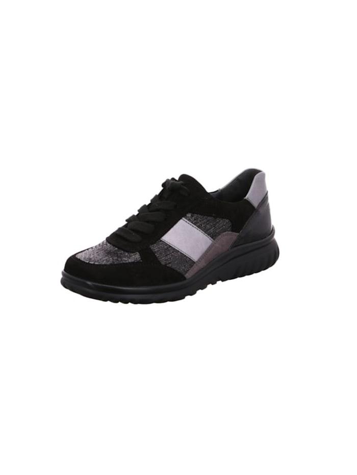 semler - Schnürschuhe  schwarz