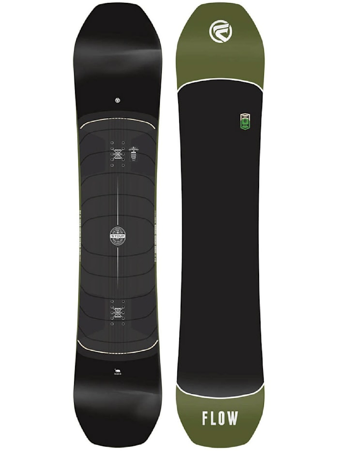 Image of Flow Snowboard Flow Board Stout 2017 Flow Schwarz