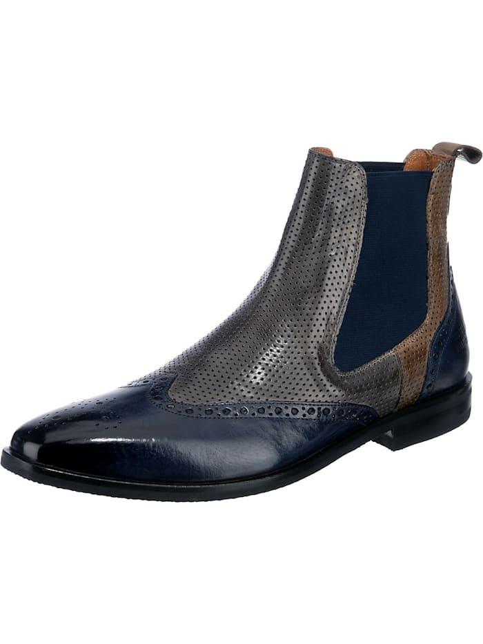 melvin & hamilton - Alex 9 Chelsea Boots  blau/grau