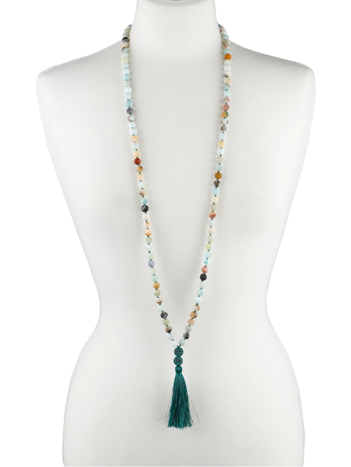 Y-vormig collier van groen amazoniet KLiNGEL Groen