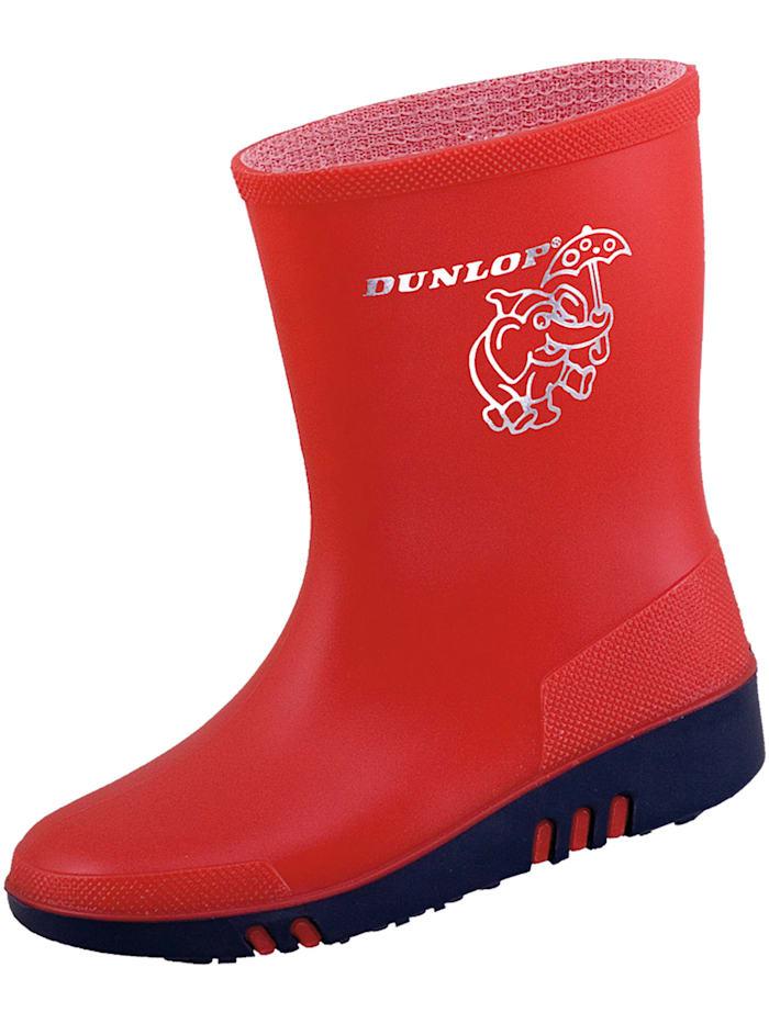 dunlop - Stiefel  Mini rot/blau  rot