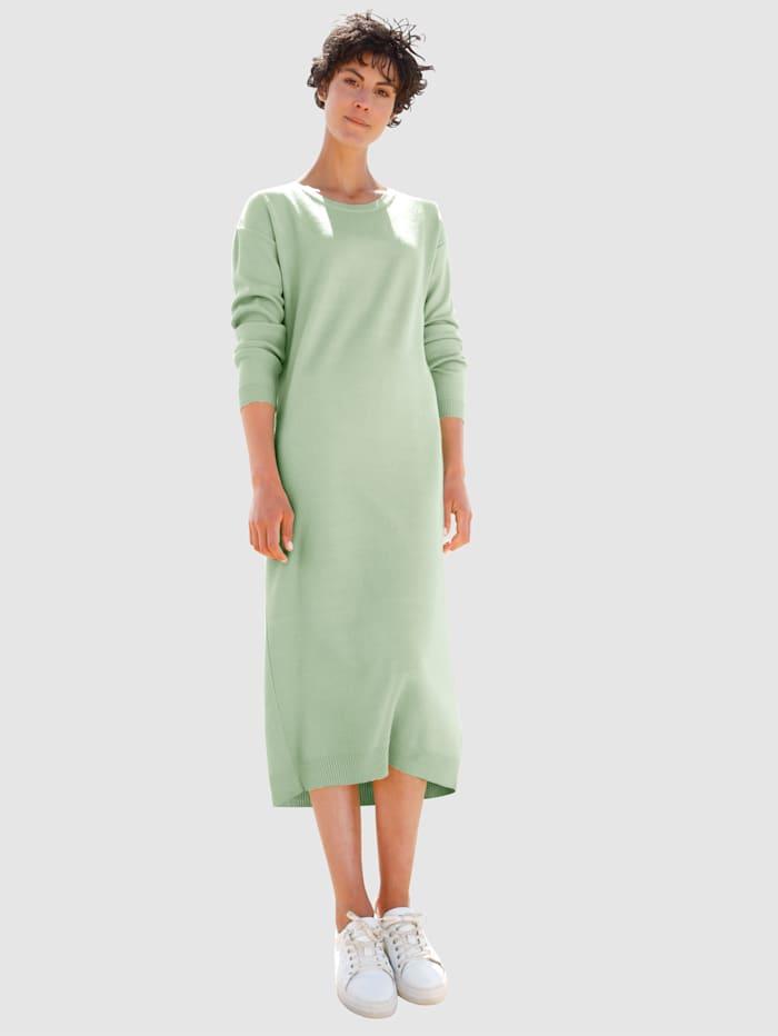 dress in - Strickkleid  Mintgrün