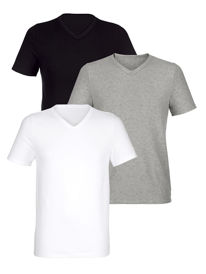 Shirt BABISTA Wit::Zwart::Grijs