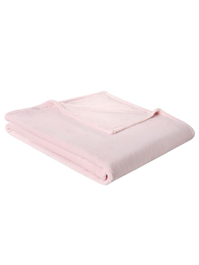 Plaid Soft & Cover biederlack roze