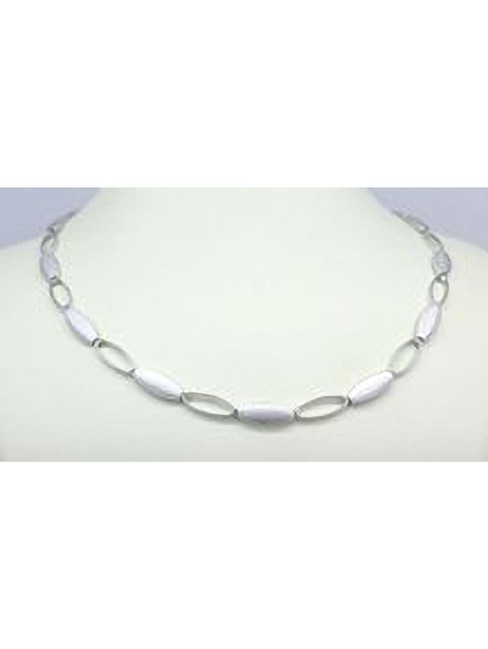 one element - Damen Schmuck Halskette aus 925 Silber 45 cm  silber