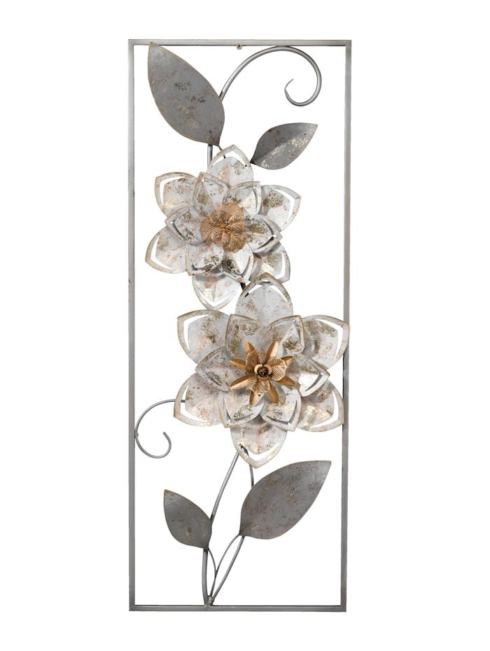 Wanddekoration Blumen IGEA creme