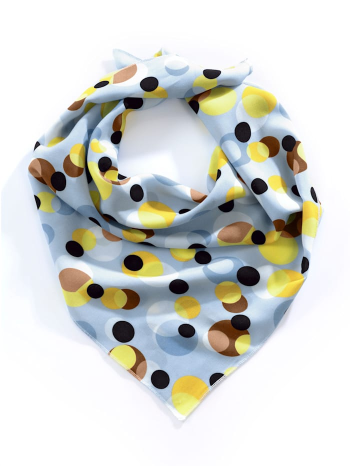 Foulard Alba Moda Bleu/jaune/marron