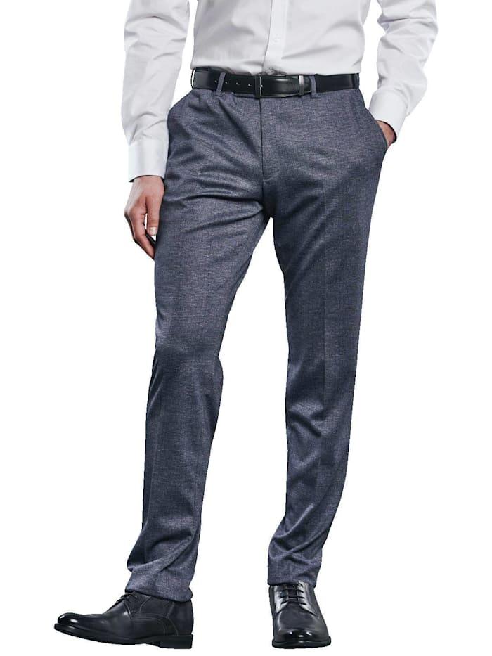 engbers - Anzug-Hose kariert  Indigoblau