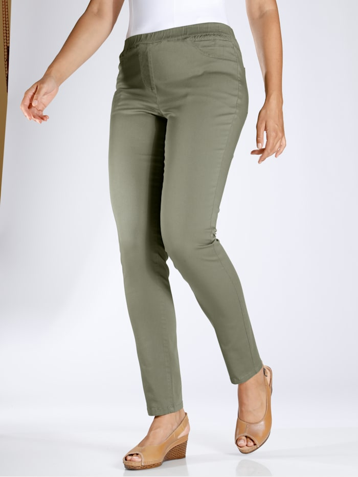 m. collection - Jeggings  Oliv