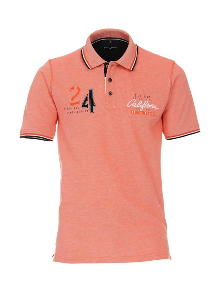 casamoda - Polo-Shirt uni  Orange