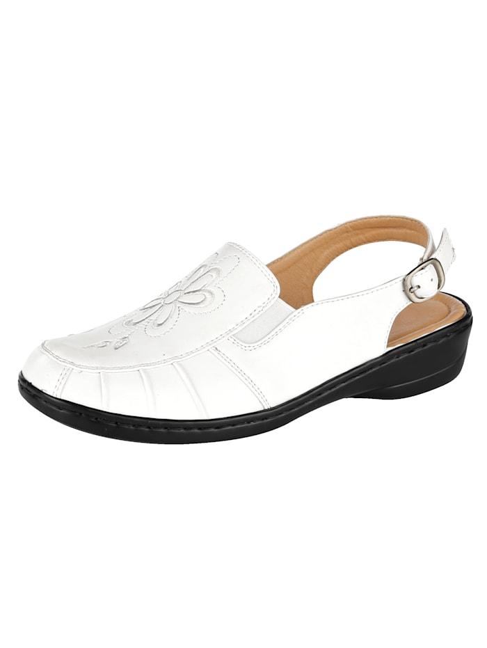Sandaaltje Julietta Wit