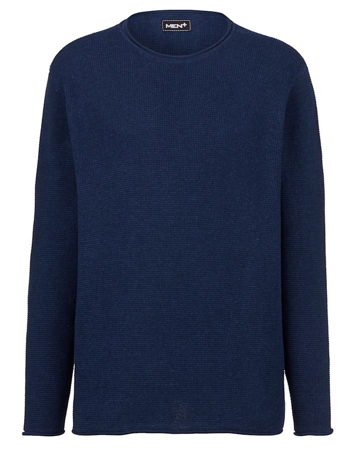 men plus - Pullover  Marineblau
