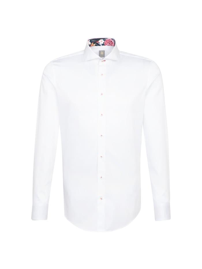 jacques britt - Business Hemd ' Slim Fit '  Uni weiss (0001)
