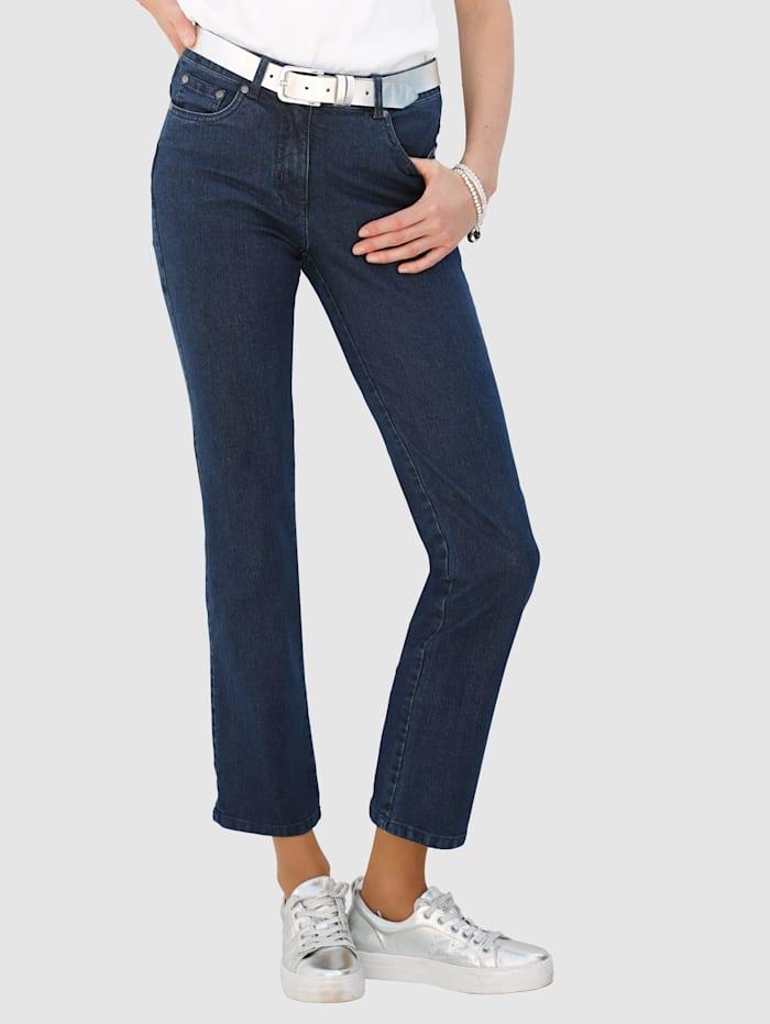 Jeans Dress In Marine