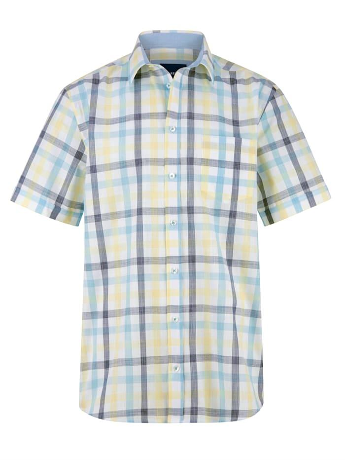 Overhemd BABISTA Geel::Turquoise