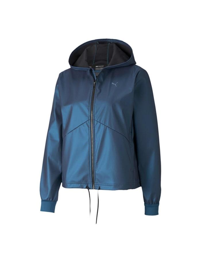 puma -  Jacke Warm Up Shimmer  Blau