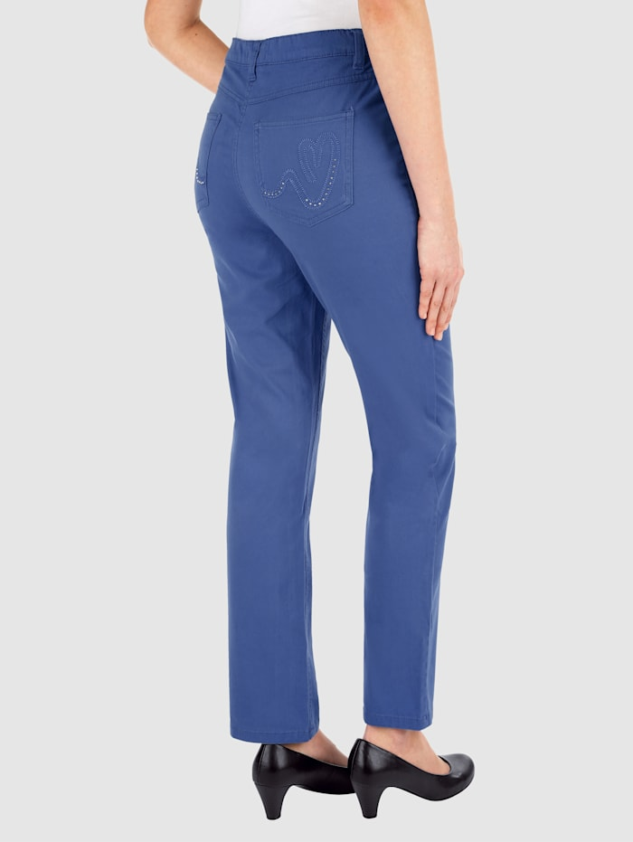 Laura kent Broek  Royal blue
