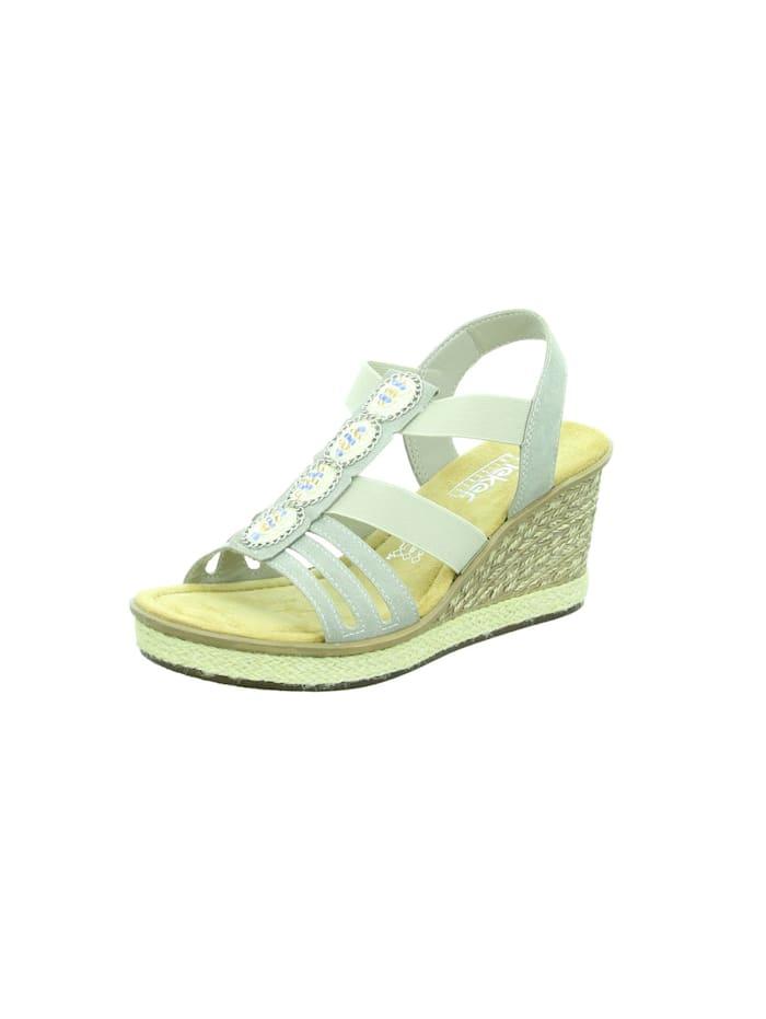 rieker - Sandale Sandale  grau