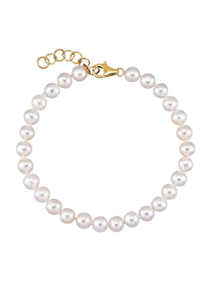 Image of Akoya-Zuchtperlen-Armband Amara Perle Weiß