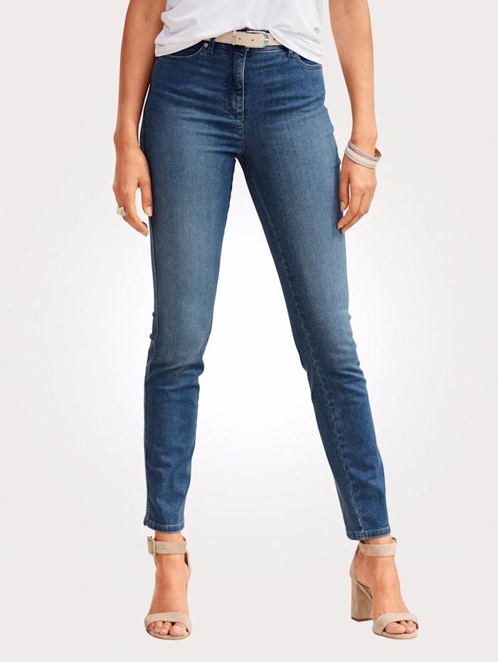 Jeans Toni Blauw