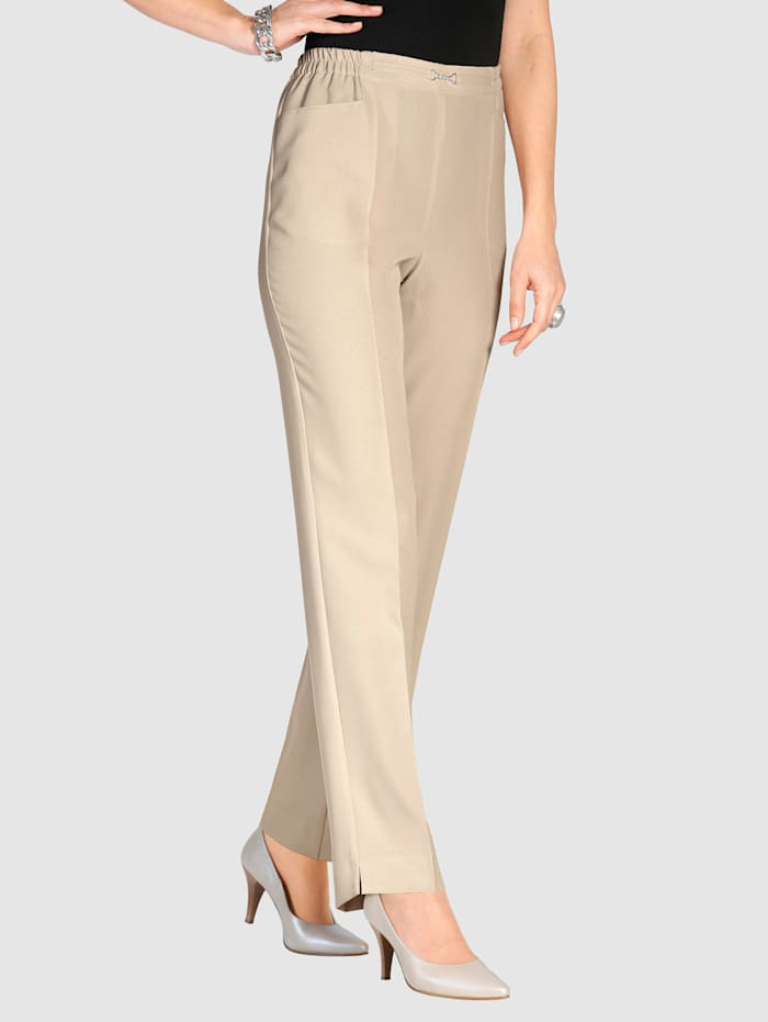 M. collection Broek  Beige
